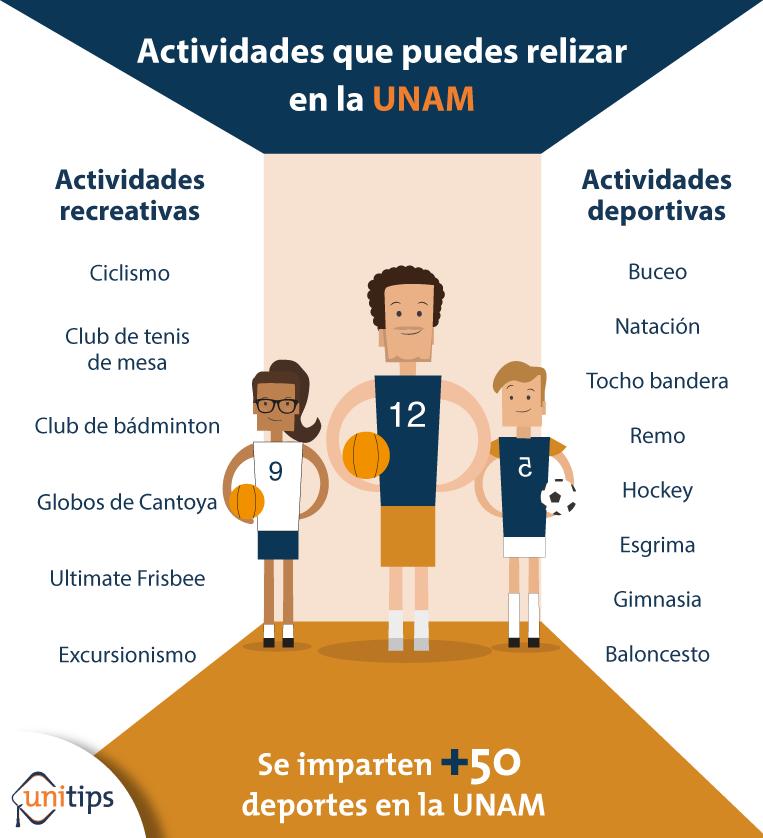 Buceo, ciclismo, boliche y otras 50 actividades que puedes realizar en la UNAM