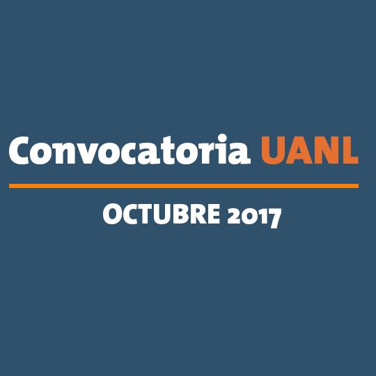 Convocatoria UANL Octubre 2017