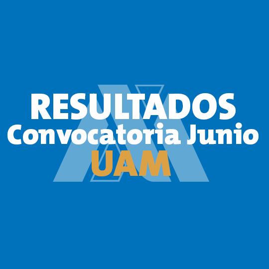 Resultados UAM 2017