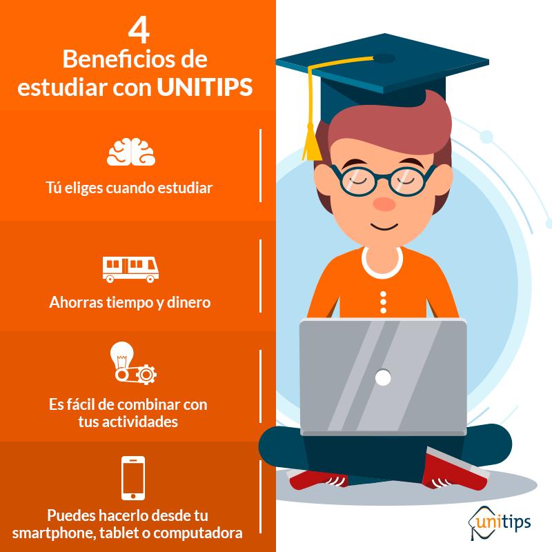 Ventajas de estudiar en línea